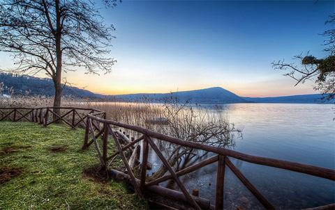 Il lago di Vico foto: http://www.infoviterbo.it