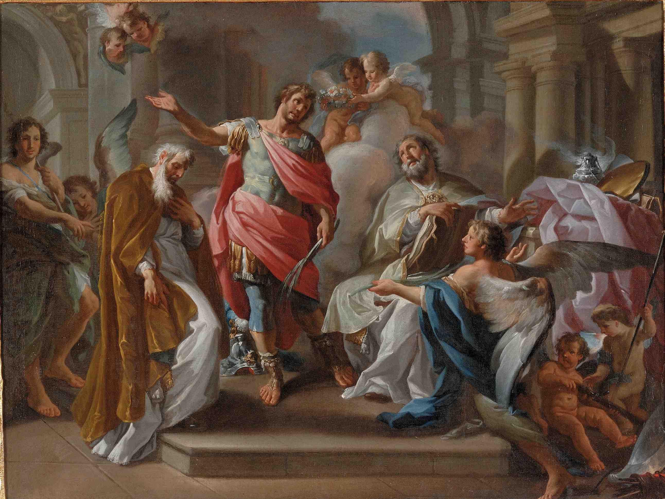 Corrado Giaquinto E La Pittura Del 700 Arte E Luoghi