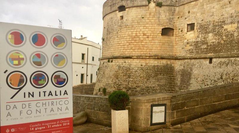 900 in Italia. Da De Chirico a Fontana. Al Castello Aragonese di Otranto