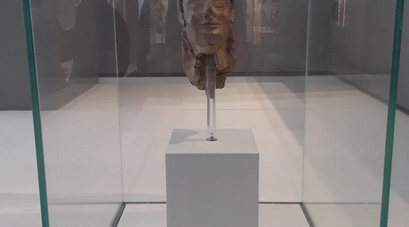 La Testa della Sfinge della Passoliera al Museo archeologico dell'antica Kaulon