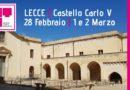 Torna la BTM. Quinta edizione al Castello Carlo V di Lecce