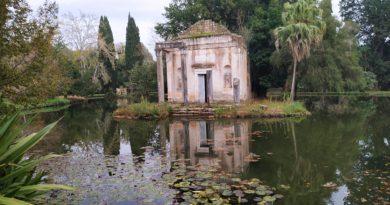 La meraviglia dei Giardini Inglesi  della Reggia di Caserta