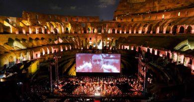June 6, 2018 GLADIATOR LIVE Orchestra Italiana del Cinema conductor Justin Freer #CineConcerts #OrchestraItalianadelCinema photo by Flavio Ianniello