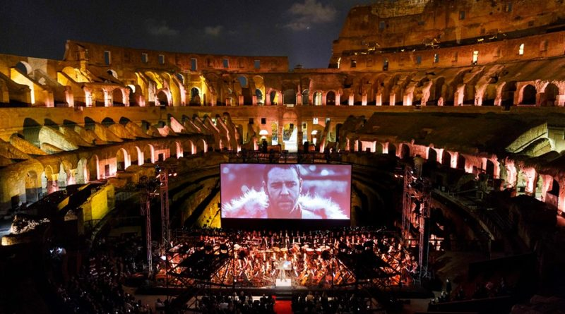 June 6, 2018 GLADIATOR LIVE Orchestra Italiana del Cinema conductor Justin Freer #CineConcerts #OrchestraItalianadelCinema photo by Flavio Ianniello