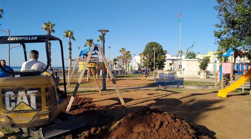 Parco giochi a Porto Cesareo