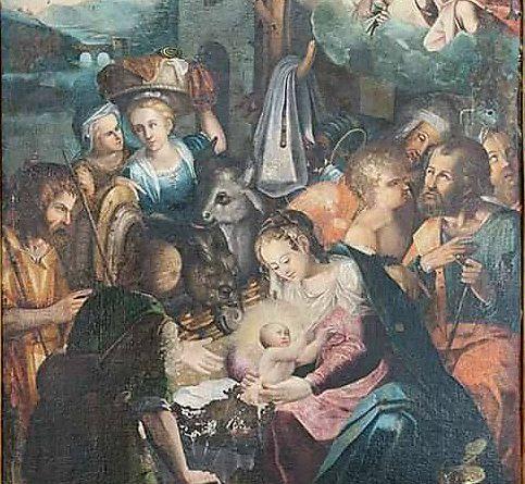 L'Adorazione dei Pastori di Todisco nella Chiesa madre di Laurenzana