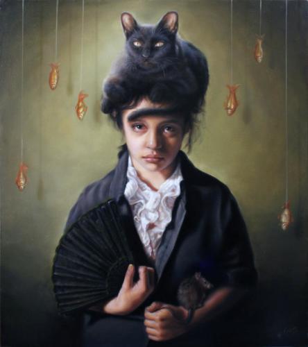 José Luis López Galván,  Cabeza de gato