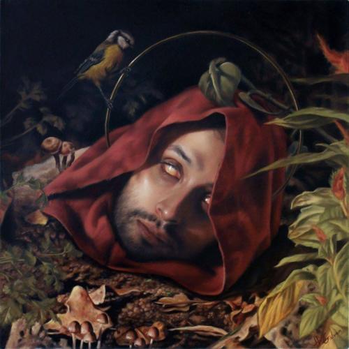 José Luis López Galván,  cabeza de santo