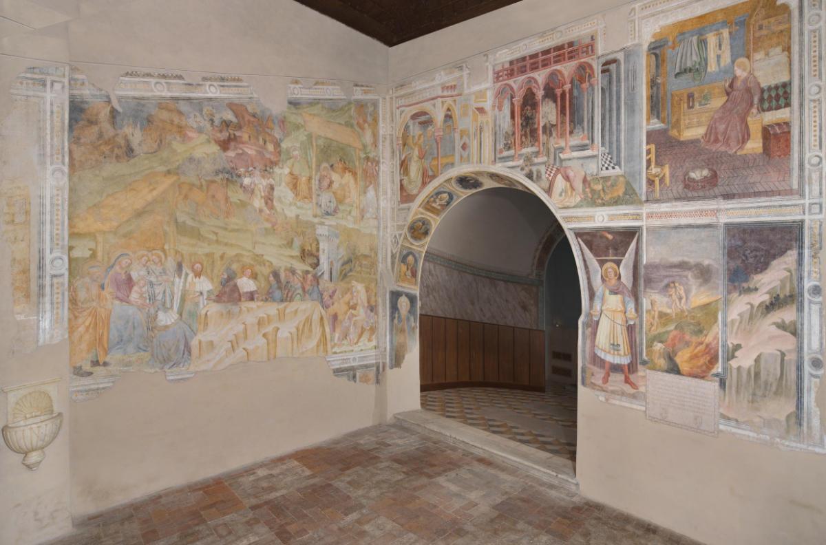 Oratorio di San Michele, interno