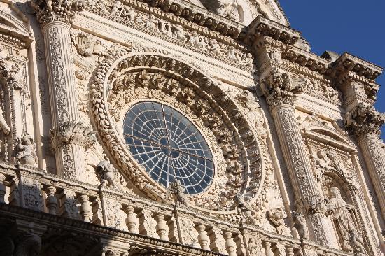 Paolo Raho, Lecce, basilica di SantaCroce