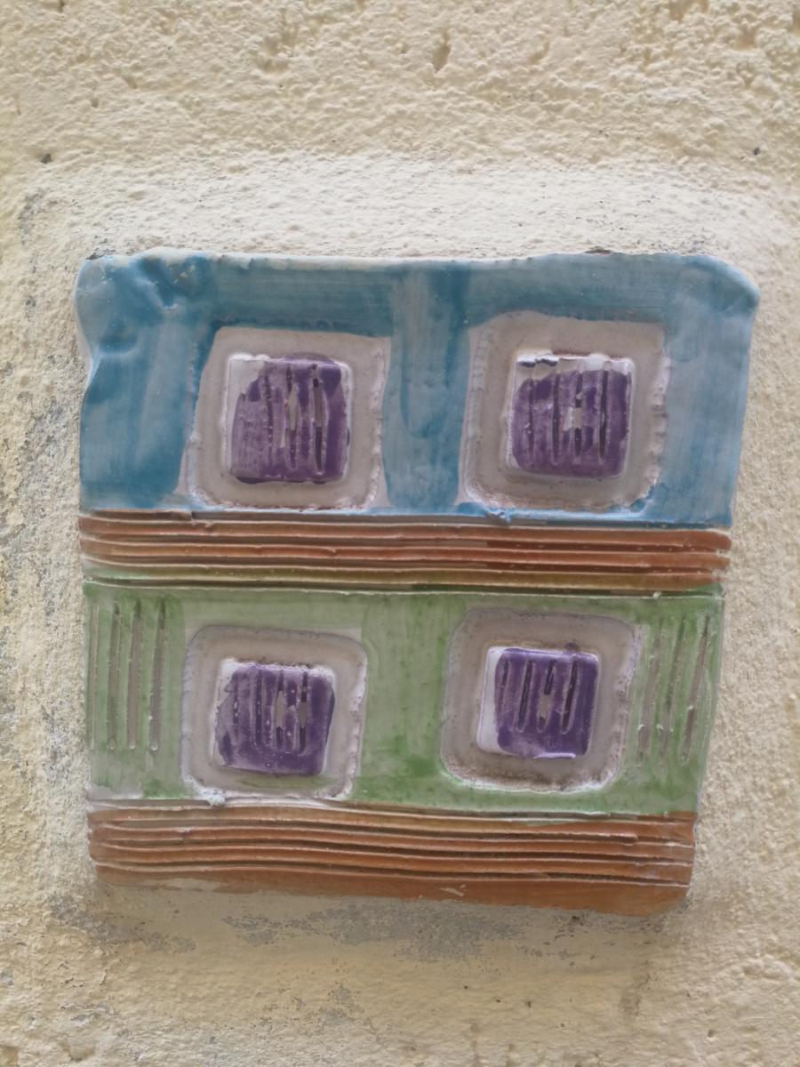 7 - Decorazioni murali in maioliche nel quartiere arabo di Mazara del Vallo