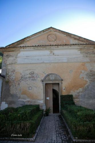 chiesa conventuale di Santa Maria della Neve a Laurenzana (foto di Domenico Iula, inviata da Andrea Lettini)